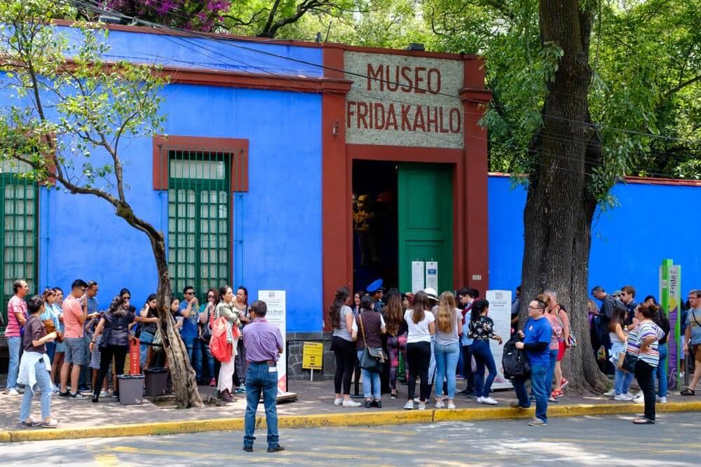 Ciudad de México Museo Frida Kahlo Descubriendo la Ciudad de México a través de sus museos