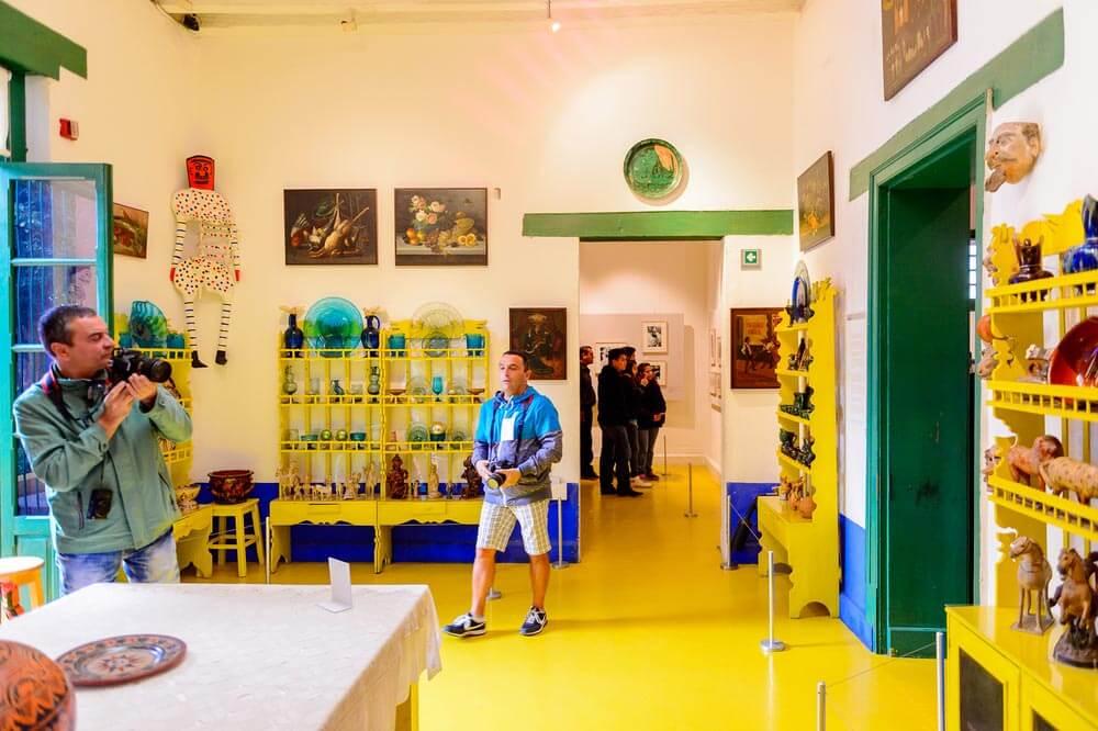 Ciudad de México interior museo Frida Kahlo Descubriendo la Ciudad de México a través de sus museos