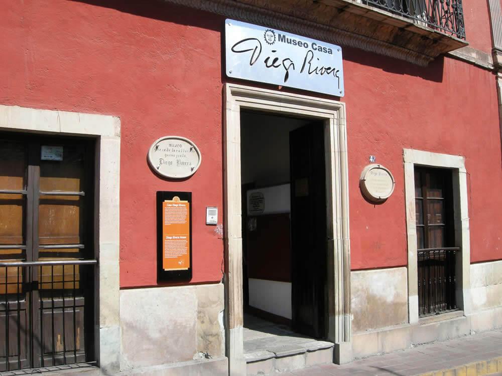 México Museo Casa Diego Rivera en Guanajuato Ciudades históricas de México para visitar