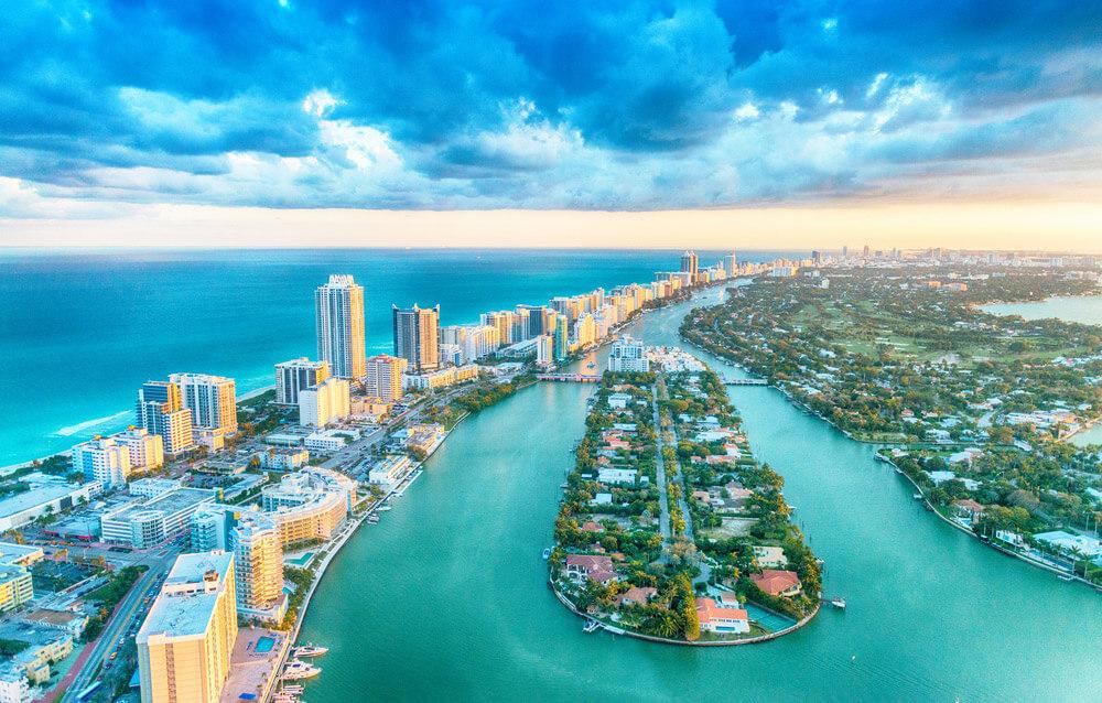 Miami Beach 10 ciudades para visitar en los Estados Unidos