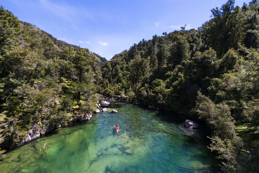 Nueva Zelanda Abel Tasman 10 destinos imperdibles en Nueva Zelanda