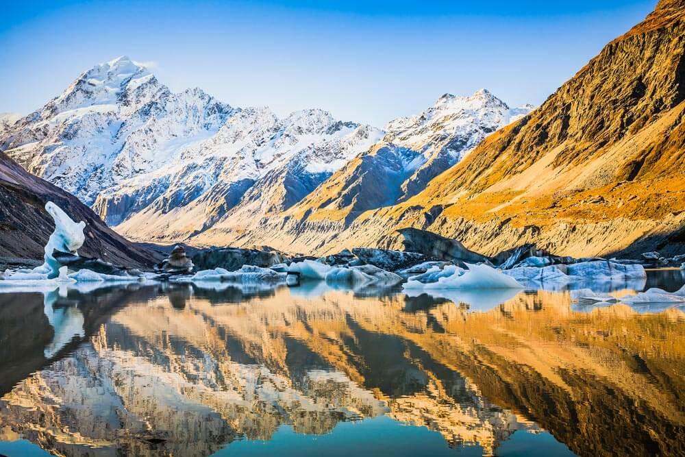 Nueva Zelanda Mount Cook 10 destinos imperdibles en Nueva Zelanda