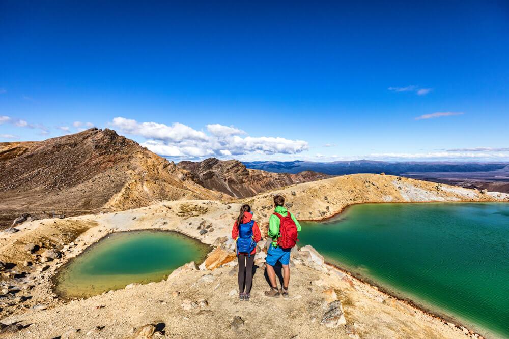 Nueva Zelanda Tongariro Alpine Crossing 10 destinos imperdibles en Nueva Zelanda