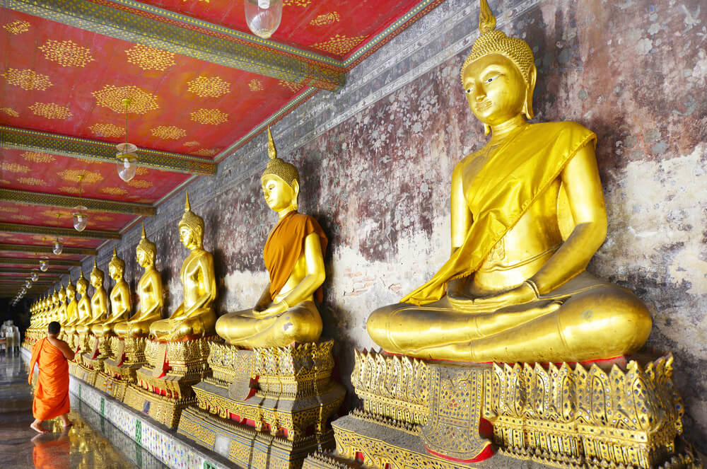 Templo Wat Suthat 9 templos para visitar en Bangkok