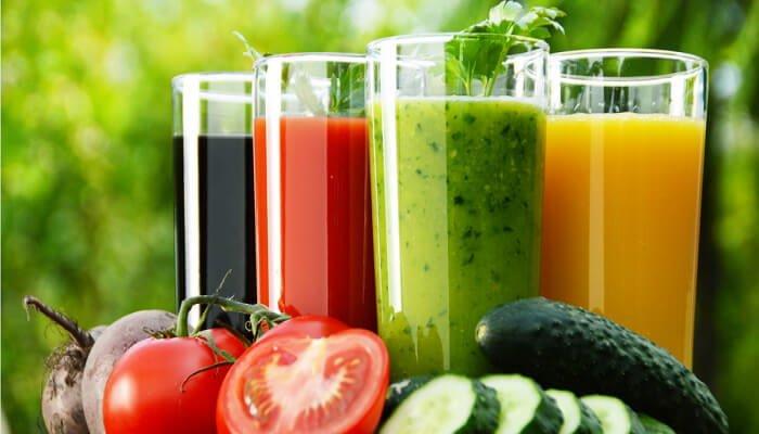 Dulce aroma y cuerpo sano batidos saludables