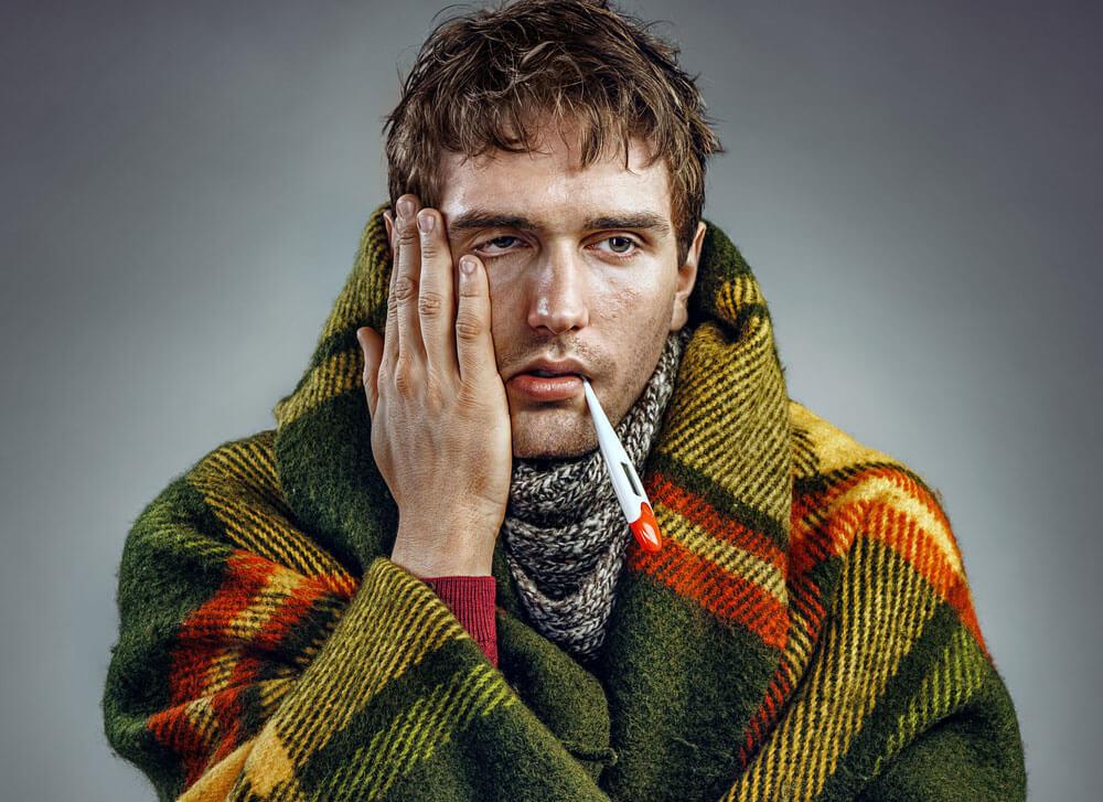 Fiebre con el resfriado común ¡Otra vez no! resfriado común y tratamientos.