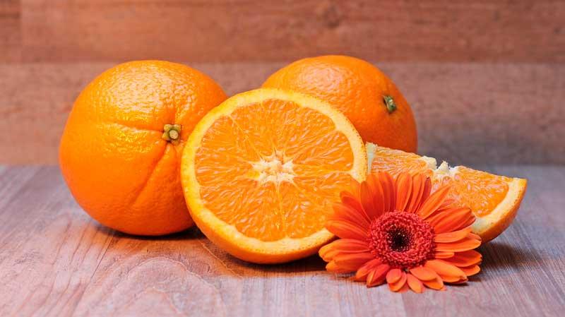 naranjas y salud