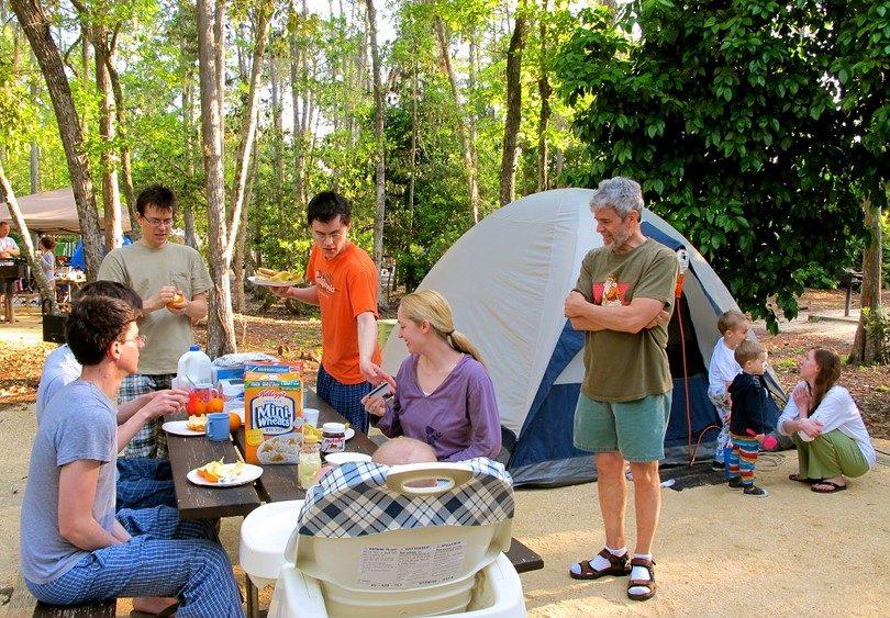 %name Cómo planificar un camping en familia