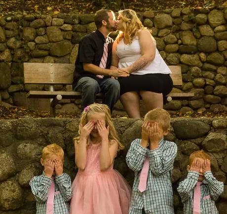 fotos familiares divertidas 6 Ideas originales para tus fotos familiares
