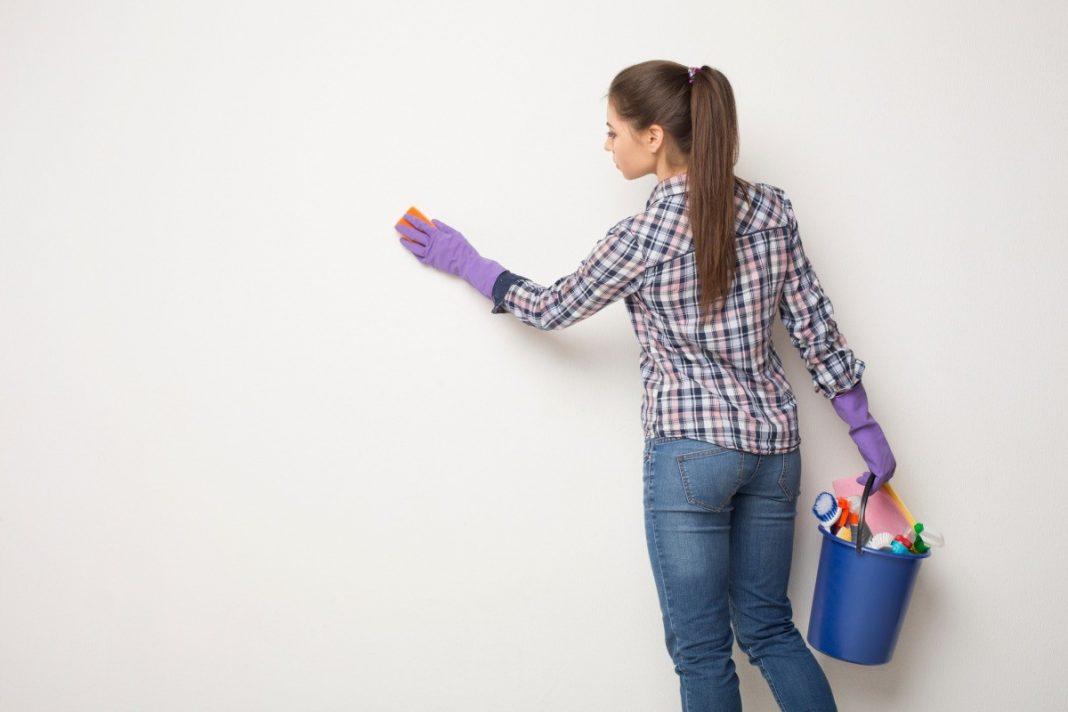 consejos para limpiar las paredes de tu hogar
