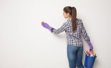 cómo limpiar las paredes de tu hogar u oficina 356x220 Home