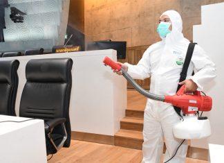 consejos para desinfectar un negocio por COVID-19