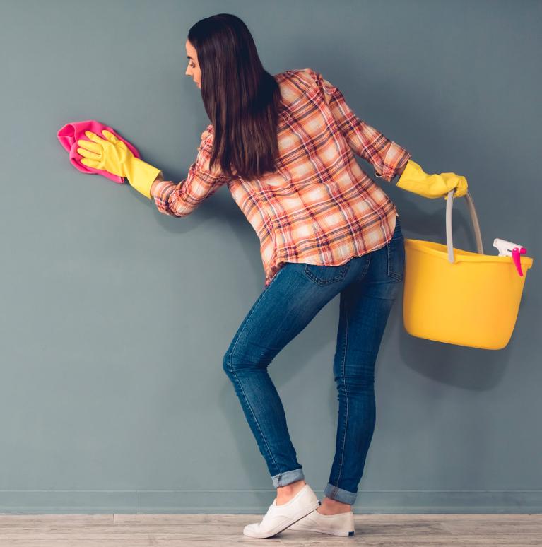 limpieza de paredes en el hogar Cómo limpiar las paredes de tu hogar u oficina
