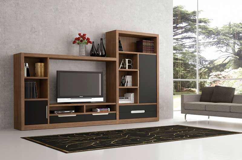 comedor modular Muebles de salón modulares adaptables a la decoración de todo hogar