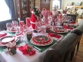 ideas para decorar la mesa en nochebuena 265x198 Home