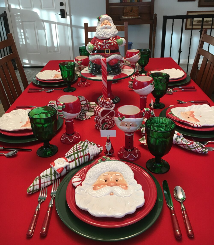 ideas para decorar mesa de nochebuena 894x1024 Ideas para decorar la mesa en Nochebuena
